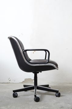 Executive Chair Von Charles Pollock Für Knoll International