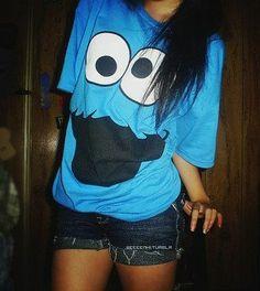 cookie monster shirt