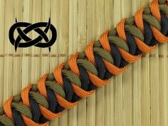 How to make a Cascading Ladders Bar Paracord Bracelet