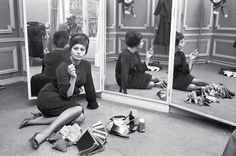 the facts of life are that a child who has seen war cannot be compared with a child who doesn't know what war is except from television ― sophia loren | foto: sam shaw/roger-viollet