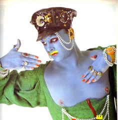 Leigh Bowery. Gratefully repinned by RokStarroad.com                                                                                                                                                                                 More