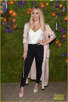 Hilary Duff Hosts Callie Collection Wines Launch!