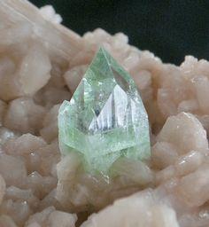 Fluorapophyllite & Stilbite (superb & rare quality) - Jalgaon, Maharashtra, India