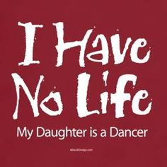 I have no life, my daughter is a dancer!  Get some new dance attire or take some dance lessons at Loretta's in Keego Harbor, MI!  If you'd like more information just give us a call at (248) 738-9496 or visit our website www.lorettasdanceboutique.com!
