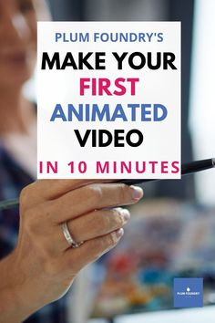 Animate your content or create a fun team project. Make your first animated video in ten minutes and have fun doing it. You can create in whiteboard or animation styles with this easy-to-use guide and software. Blog Blogging Make a video How to make a video Video maker Whiteboard How to make a whiteboard Online business Vlog Vlogging Animation How to make an animated video