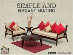 Simple and Elegant #seating sofa Best#designs #BetterHomes