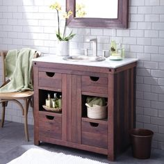 Amazing Wood Bathroom Vanities Desirable