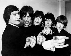 I Rolling Stones sono uno dei simboli della Swinging London degli anni '60.