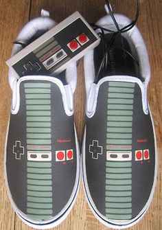 Nintendo Controller shoes