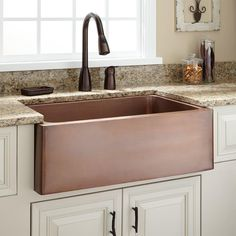 After you've ordered your sink, take a look at any documentation that's provided by the manufacturer. Make certain that the surface of the sink is per...