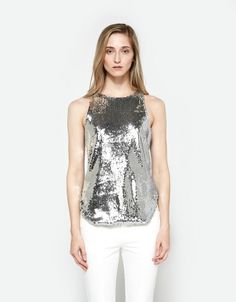 Chandi Sequin Tank