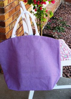 Burlap Bag - Perfect for Beach, Shopping, Gym by SoBlank on Etsy