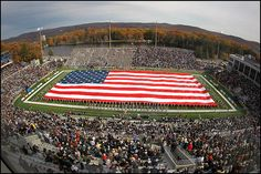 Michie Stadium, West Point NY.  Home of Army Football.  Beat NAVY!