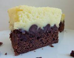 beurrista: black bottom cream cheese brownies