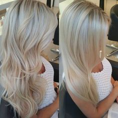 Endless #Summer #hair for this #blonde #BOMBSHELL #davinescolor #haircolor #babylights #highlights #longhair #ottawastylist… Blonde Curled Hair, Blond Hair Highlights, Blonde Hair Colour, Perfect Blonde Hair, Perfect Hair Color, Blonde Curls, Perfect Curls, Blonde Hair Toner, Heavy Highlights