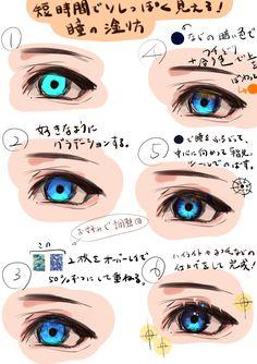 Eye Drawing Tutorials, Digital Painting Tutorials, Digital Art Tutorial, Drawing Tips, Art Tutorials, Digital Paintings, Anime Drawings Sketches, Pencil Drawings, Hipster Drawings