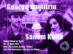 Sanem Kalfa developed her own style by enriching jazz with colorful Turkish tradition.  George Dumitriu is a Romanian born guitarist, violinist and a composer.