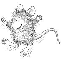 house mouse designs coloring pages - photo#36