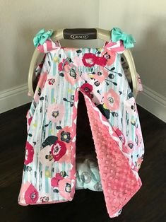 Excited to share this item from my shop: Coral and Teal Coral Navy Aqua Floral with Coral Minky Baby Car Seat Cover - Baby Girl - Shower Gift - Modern Baby Shower Gift Basket, Shower Gifts, Trendy Baby Boy Clothes, Baby Boy Outfits, Baby Gifts To Make, Teal Coral, Baby Room Neutral, Baby Cover, Cute Cars