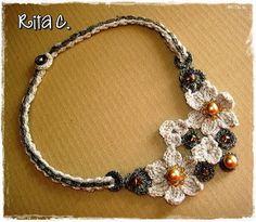 Creazioni Rita C. ... Only Handmade!: Bijoux a Uncinetto