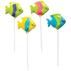 Tropical Fish Lollipops - Tropical Fish Lollipops Includes (12) assorted lollipops. Now $6.99 for 12 lollipops.