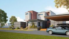 Contemporary House Design with Sustainable Approach Sustainable Design, Water Tank, Dream Cars, Sustainability, House Plans, Interior Decorating, House Design, Mansions, Contemporary