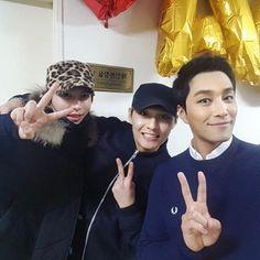 [instagram] Do Jihan with Kiseop (UKISS) and musical actor Min Woohyuk