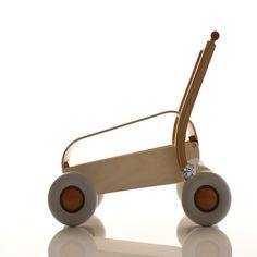 Baby Walker for kids Schorsch by Sibis Sirch Baby Toys, Kids Toys, Design Awards, Wooden Toys, Baby Strollers, Home Improvement, Storage, Unique Products, Stools