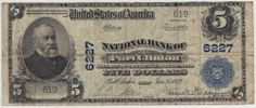 Port Clinton had one national bank that changed names three times. This is the only large note from the third title. Sure to attract some attention.