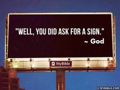 BAHAHAHAHAHHAH!!! XD Heehee... LOVE IT!  (from My Bible, via facebook)