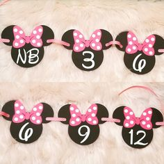 Baby Crafts, Minnie Mouse, Banner, Sweet, Instagram, Women, Banner Stands, Candy, Banners