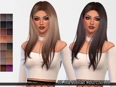 Hair Retexture WINGS-OS0530 by Pinkzombiecupcakes at TSR • Sims 4 Updates