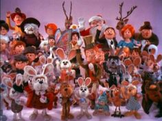 Collecting the Rankin & Bass figurines from the Christmas shows; Rudolph, Santa Claus is Coming to Town, Little Drummer Boy, The Year w/o a Santa Claus.