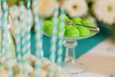 Candybar with lime green marshmallows