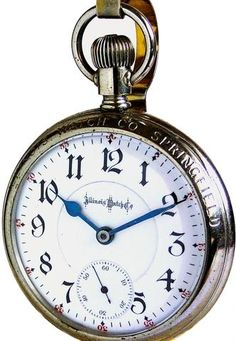 Information about antique and vintage railroad grade pocket watches