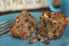 Paleo Speaking of Nuts... Banana Nut Chocolate Chip Muffins Recipe | Paleo Newbie