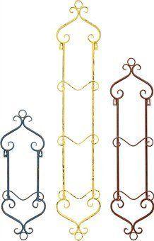 Augusta Vertical Petite Wall Plate Rack | New House | Pinterest ...