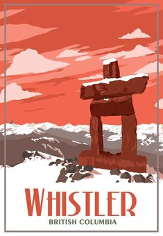 BC - Vintage Travel Poster Whistler BC - Vintage Travel century BC The century BC was a century which lasted from the year 3900 BC to 3801 BC. Whistler, American Express Rewards, Ski Posters, Posters Canada, Modern Posters, Retro Posters, Type Posters, Voyage Canada, Traverse City Michigan