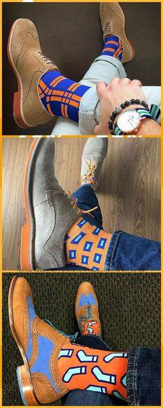 Socks that people get talking.