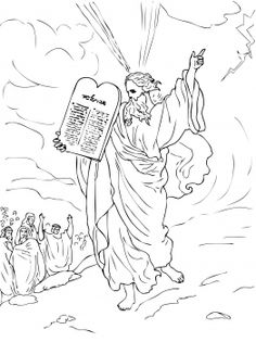 biblle stuff on Pinterest | Ten Commandments, Clip Art and ...