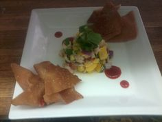 Mango Yuzu Shrimp and Crab Ceviche