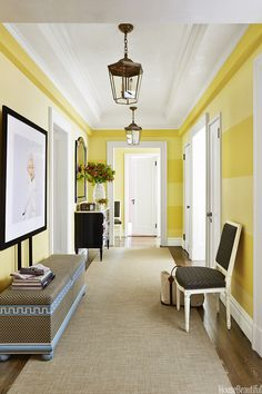 Hallway Decor Ideas - Bold Hallways - House Beautiful