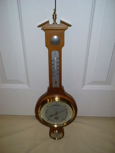 Elgin Weather Instrument: Barometer Thermometer by pbClocks