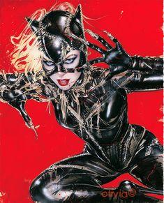 Catwoman / Red (Olivia de Berardinis)