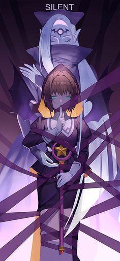Sakura & The Silent card | Sakura Kinomoto (木之本さくら) | Cardcaptor Sakura (カードキャプターさくら), CCS, Cardcaptors, Card Captor Sakura | CLAMP