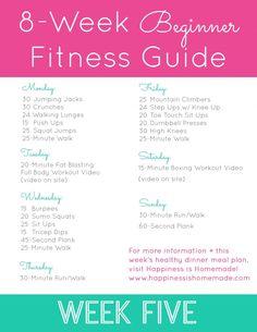 Beginner Fitness Jumpstart: Week 5