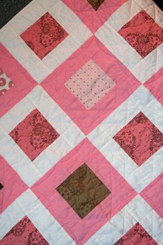 The week that Graham was born, some friends of ours found out that they were going to have twin girls! I'd already made a baby quilt for their daughter and knew I wasn't about to leave these two out. After finishing the Jewel Squares top, I needed something I could finish quickly and easily. I {...Continue Reading}