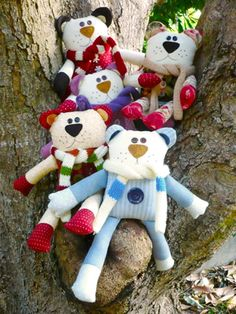 cuddle bears i- lovely design from Red Boot Quilt Co