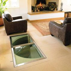 a trap door for your wine cellar! | wine cellar inspiration