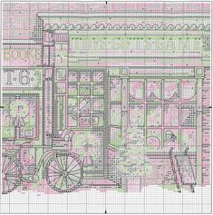 Схема вышивки Toy Shoppe (Dimensions)
